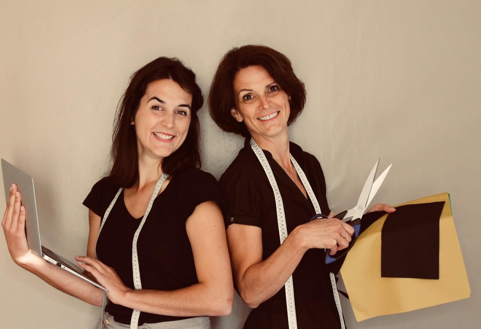 Lauréline Rabier et Nathalie Rabier Fondatrices C.Bergamia