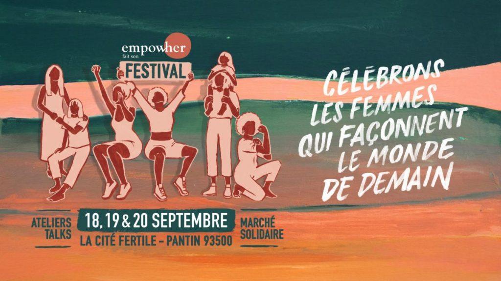 Festival Empow'Her 2020 - Affiche Célébrons les femmes qui façonnent demain