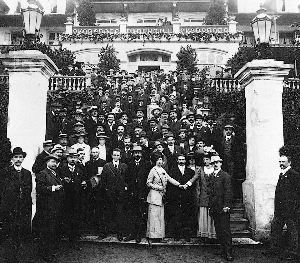 Deuxième conférence de l'Internationale socialiste des femmes - 1910 - Copenhague