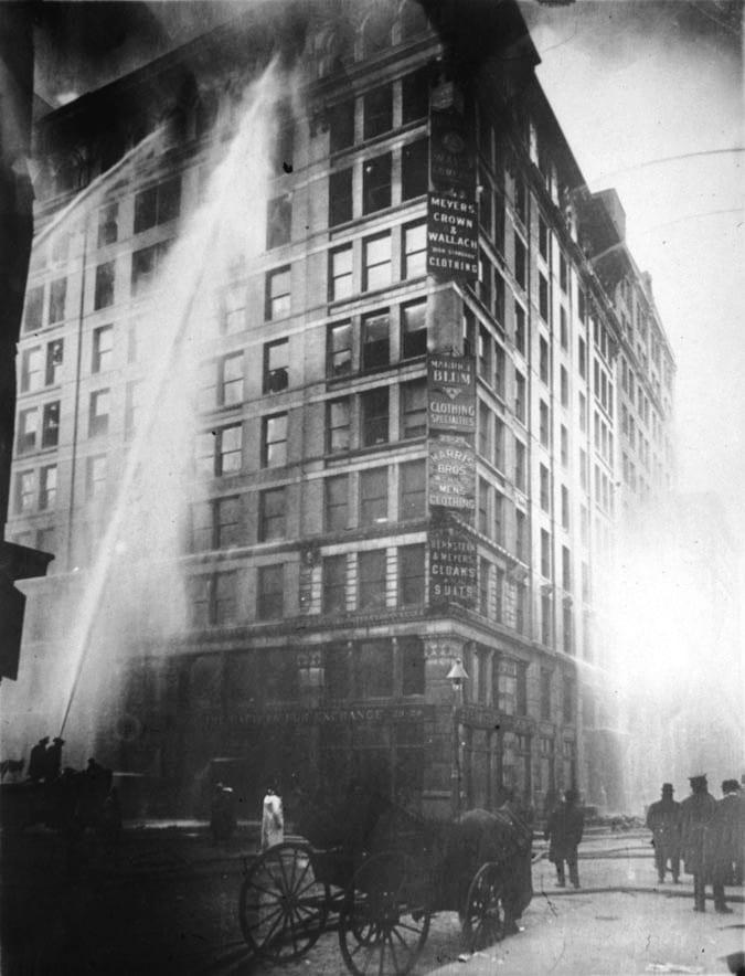 Incendie de l'atelier textile Triangle Shirtwaist 25 mars 1911