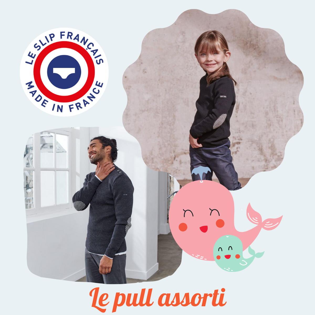 SloWeAre - 6 idées pour habiller les enfants - éco-responsble - pull mérinos - garçon - Made in France.