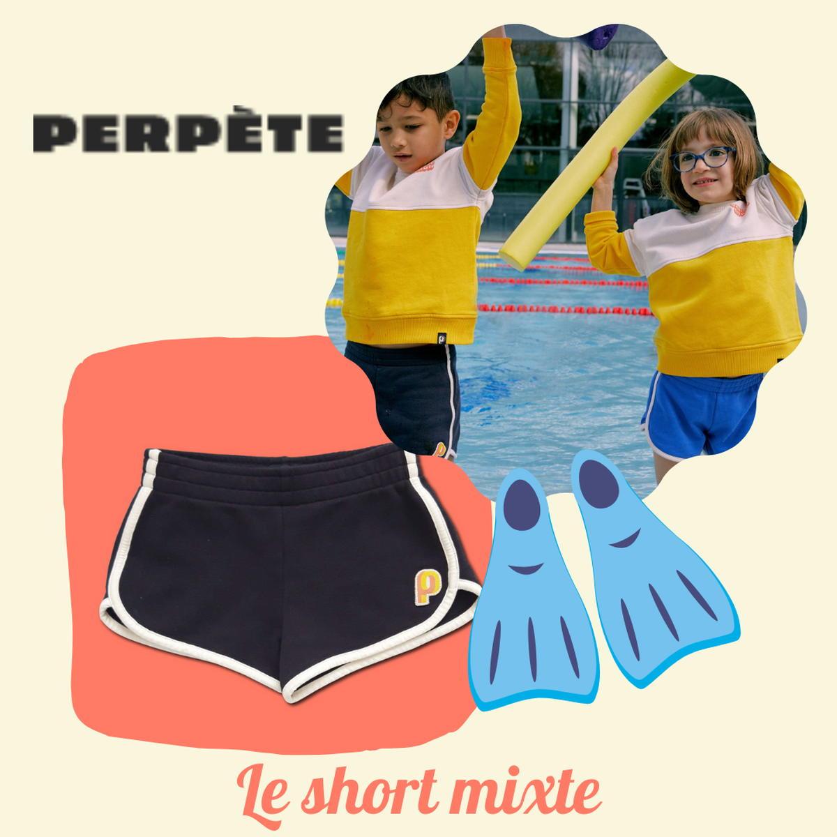 SloWeAre - 6 idées pour habiller les enfants - éco-responsble - short fille garçon - Perpète - coton bio - Made in Europe.
