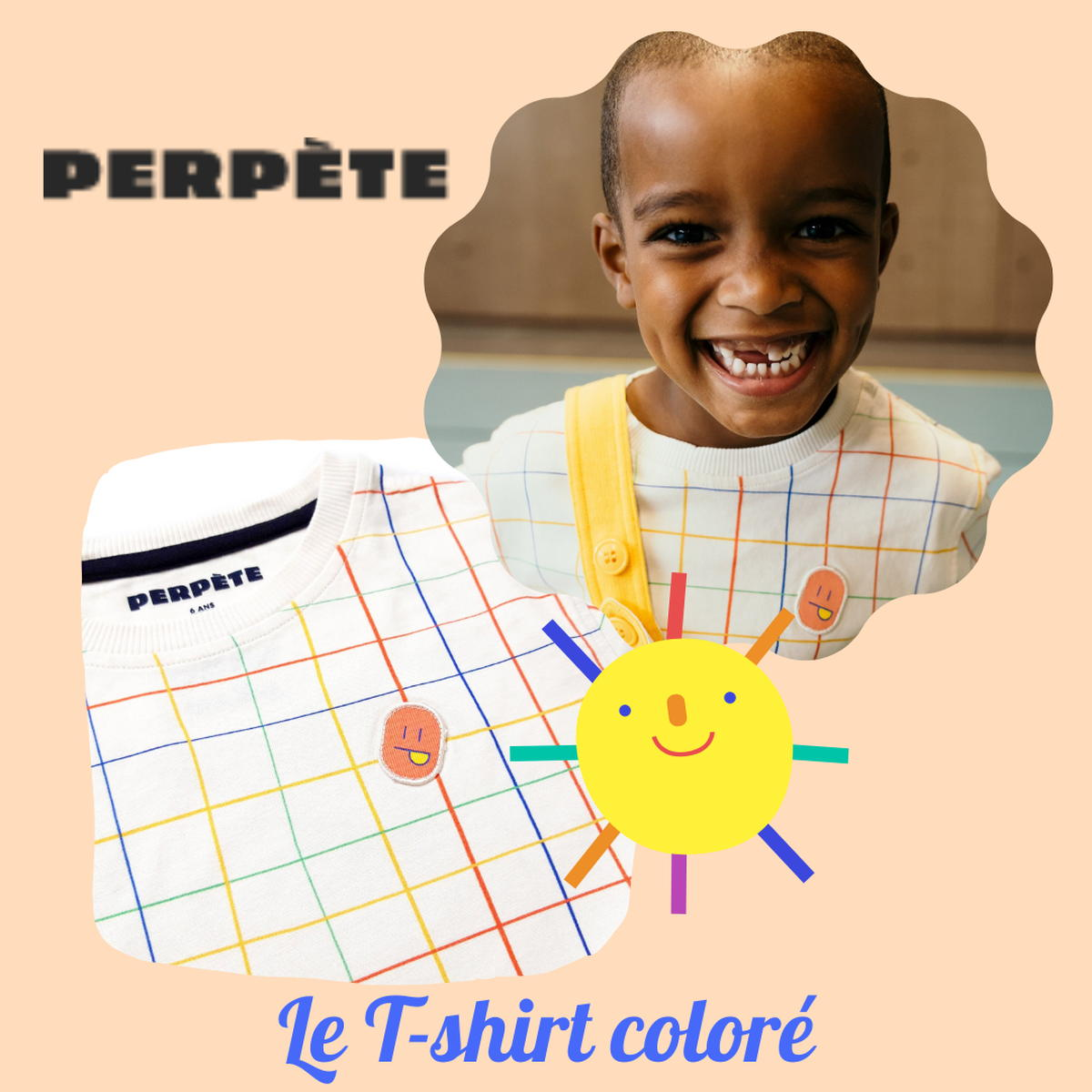 SloWeAre - 6 idées pour habiller les enfants - éco-responsble - T Shirt - fille garçon - Perpète - coton bio - Made in Europe.