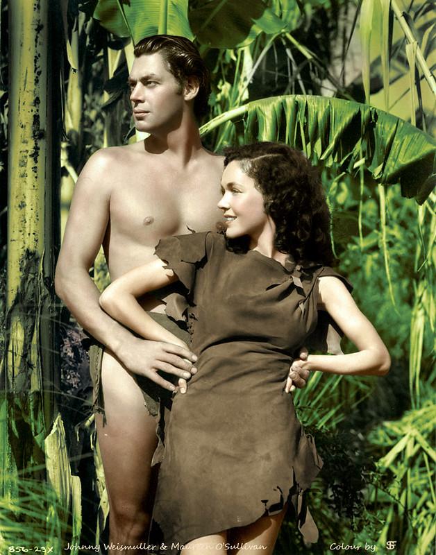 Johnny Weissmuller & Maureen O'Sullivan - Tarzan