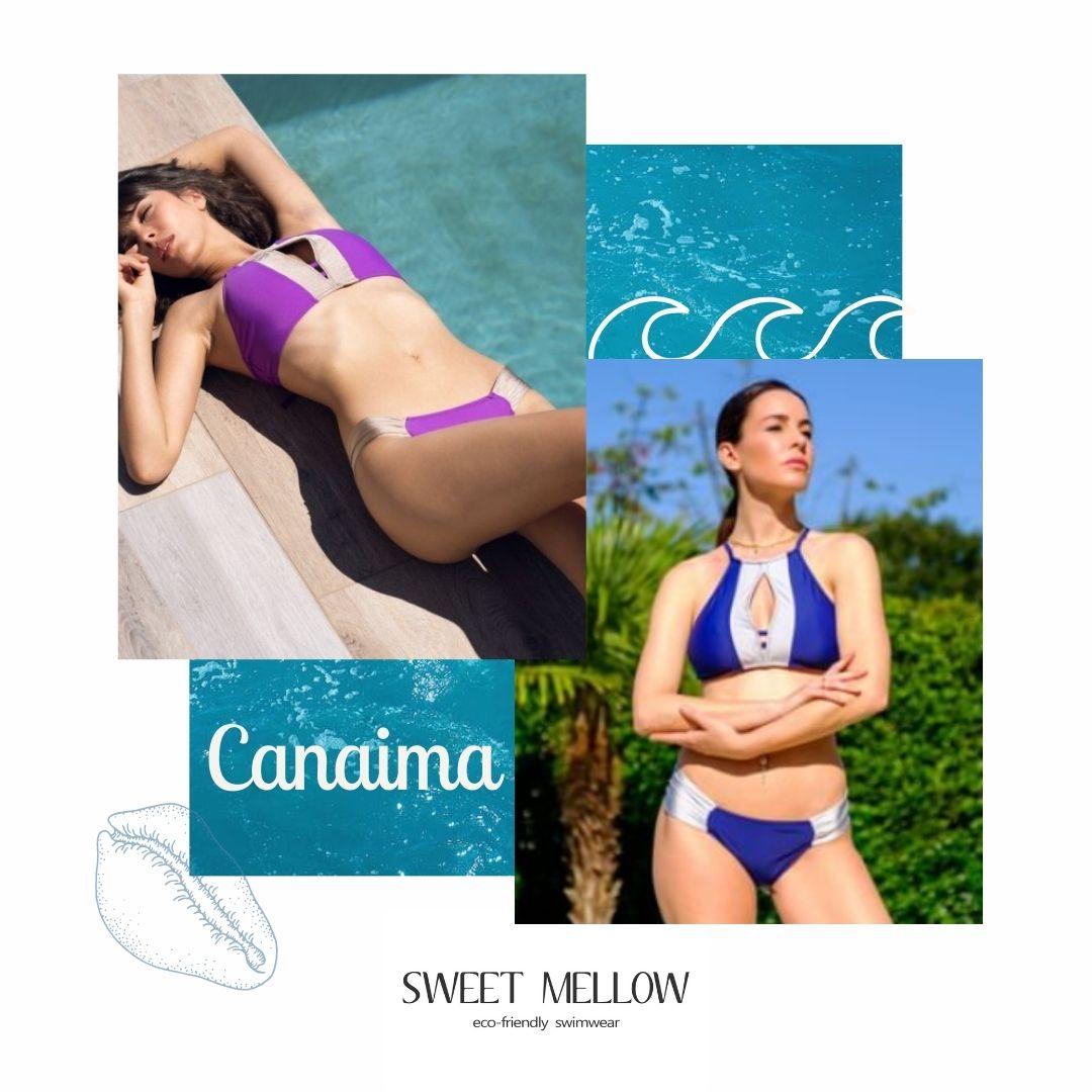 Sweet Mellow - Canaima - Maillot de bain - écoresponsable - Bikini - Econyl - OekoTex - Made in Portugal - Femme