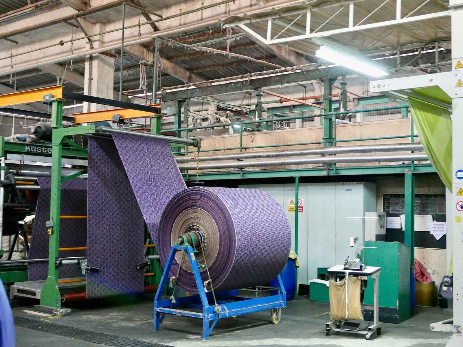 Voyage dans les coulisses de fabrication d'une basket Panafrica - usine Uniwax
