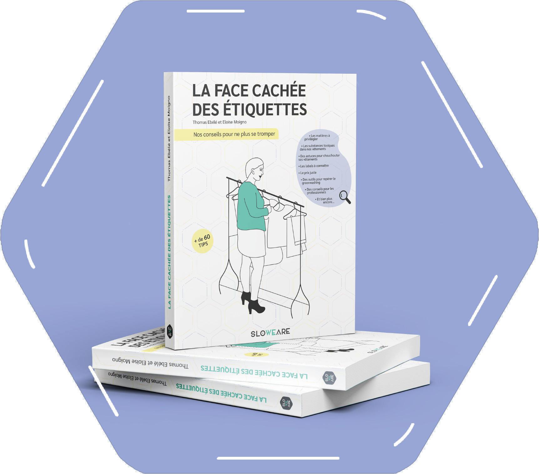 La face cachée des étiquettes - SloWeAre - pile de livres